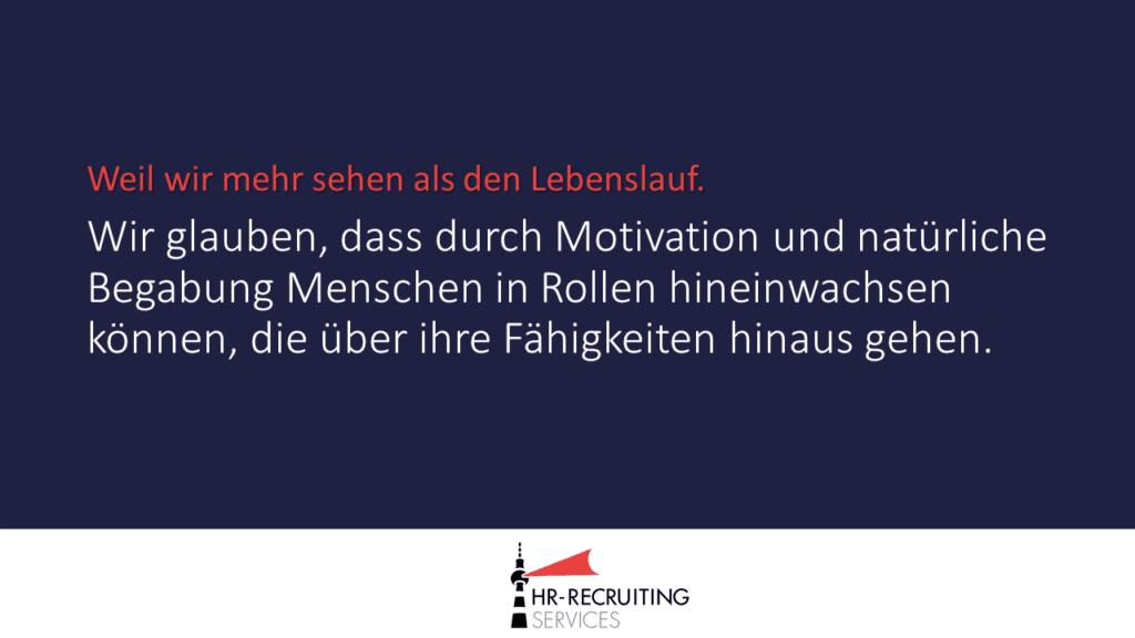 Principle #8: Talent im Recruiting