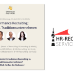 Clubhouse Folge 1: Performance Recruiting